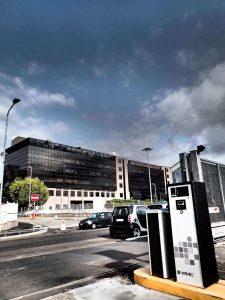 FAAC Parking System Installation - San Raffaele Hospital - Milan