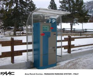 Area Petroli Cortina Italy