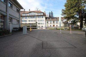 Fribourg, Switzerland: B680H barrier 24V - Installed by Baumann Constrelec, Rosé
