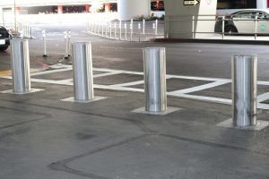 INOX M30 Bollards installed in San Francisco - USA