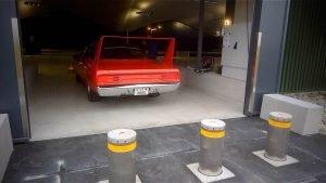 J275 HA bollards in high security garage in Emmen, Switzerland