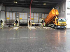 Buchs, Switzerland: Barriers at a waste disposal site – Installed by Mettler Tore, St. Gallen